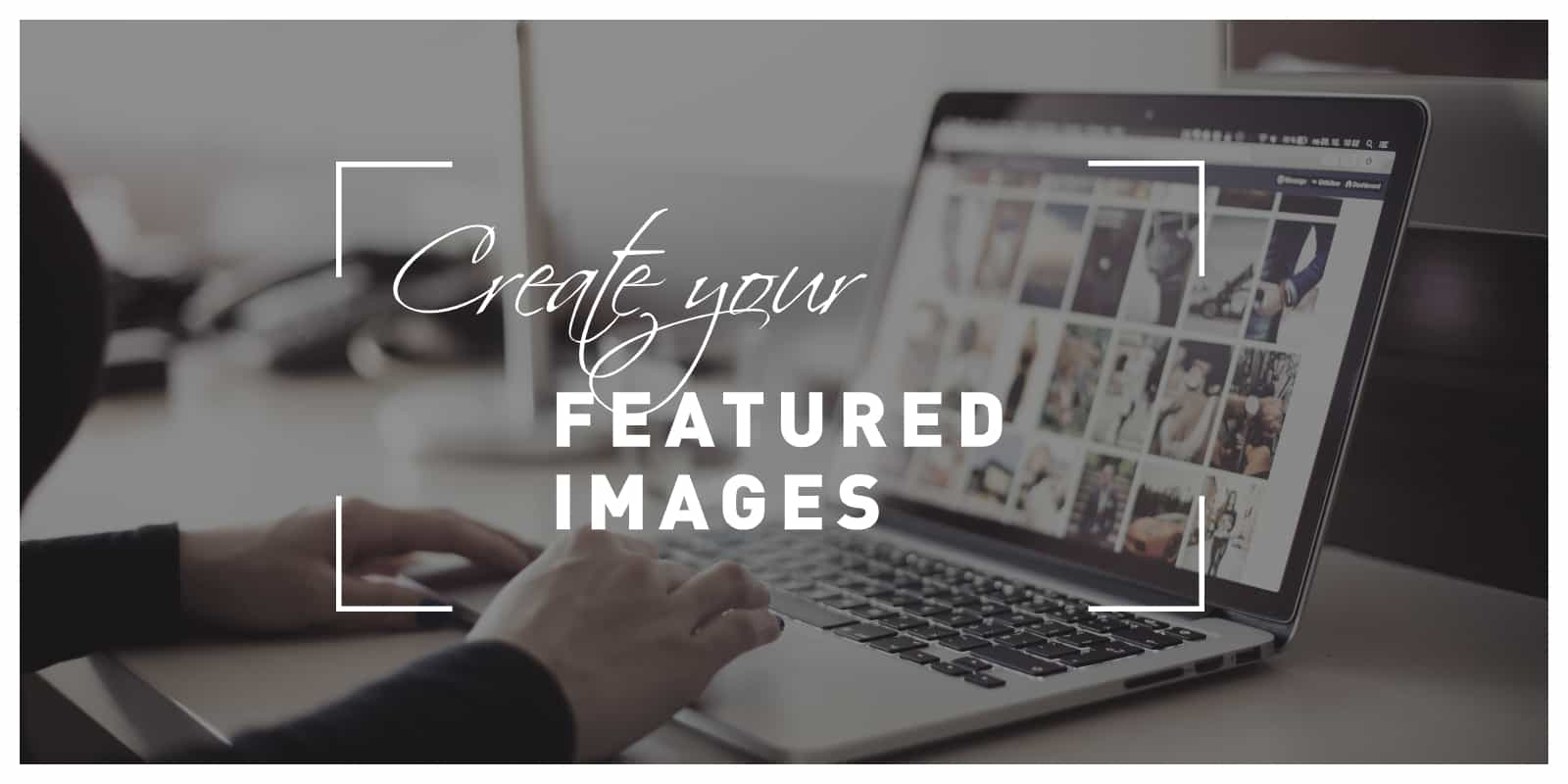 create featured images