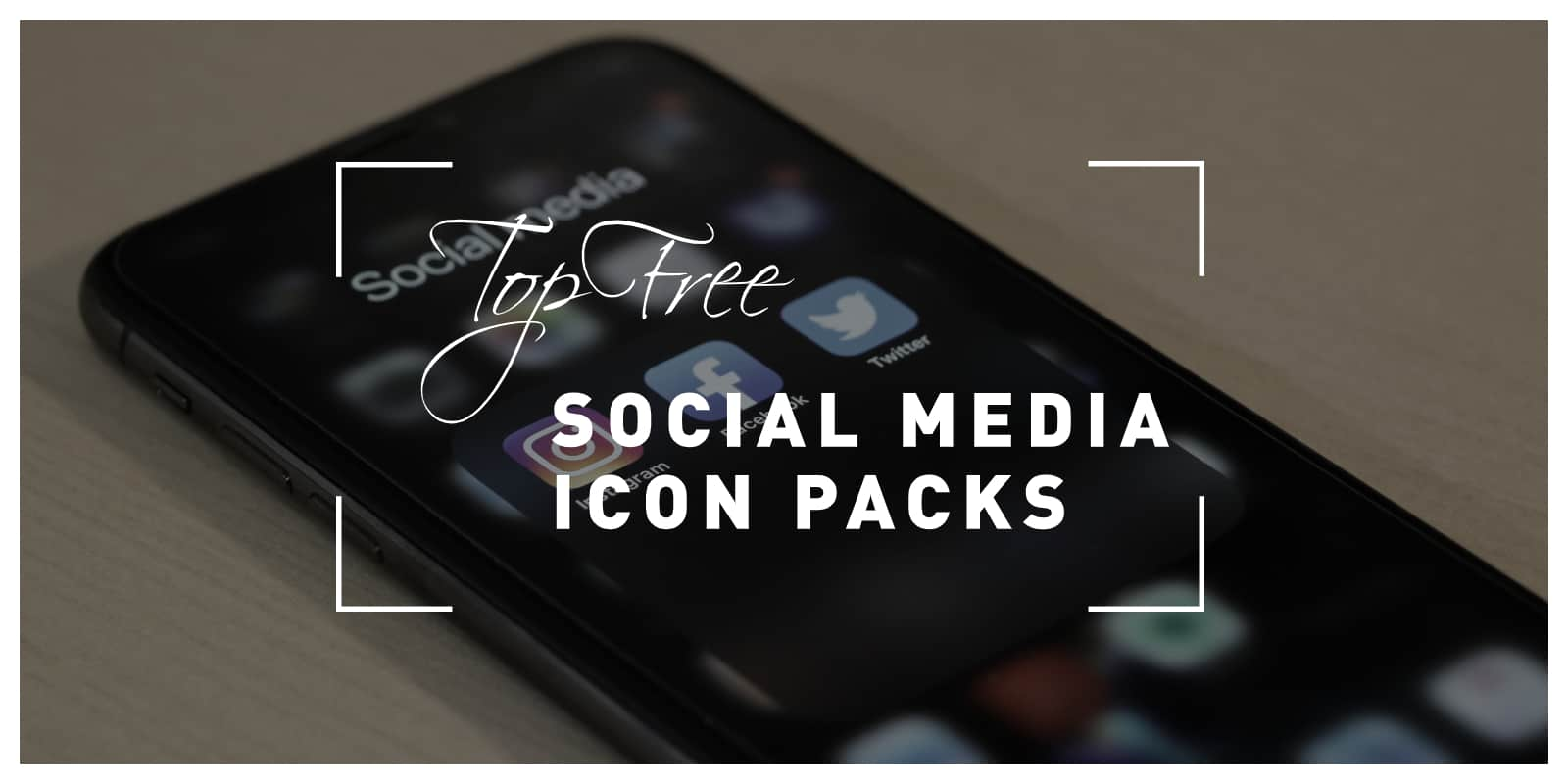 Top free social media icons packs