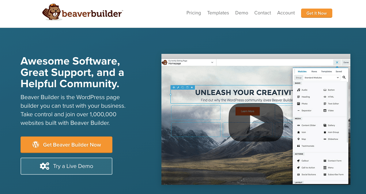 Beaverbuilder plugin