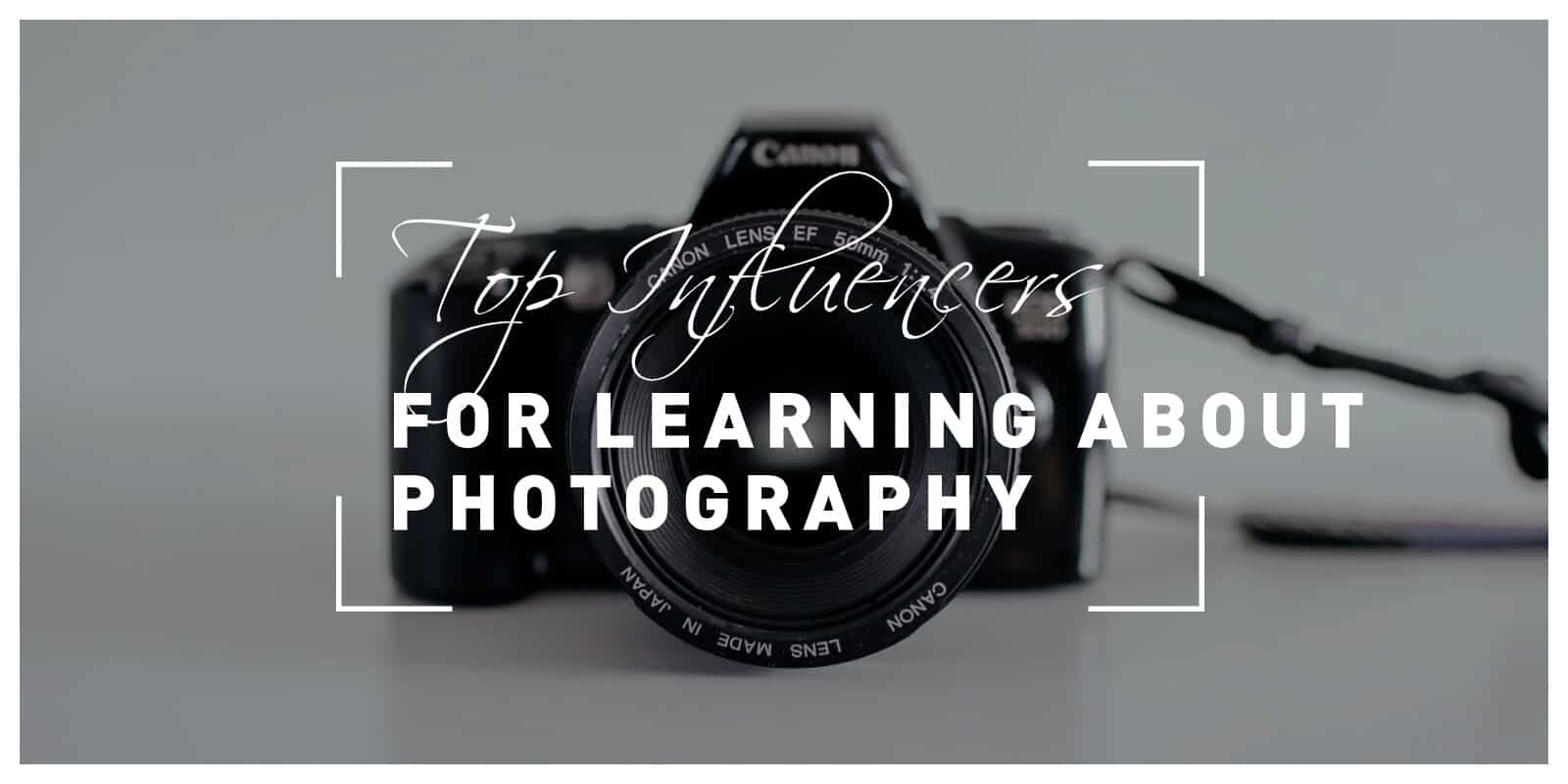 Top instagram influencers you should follow to learn more about photography