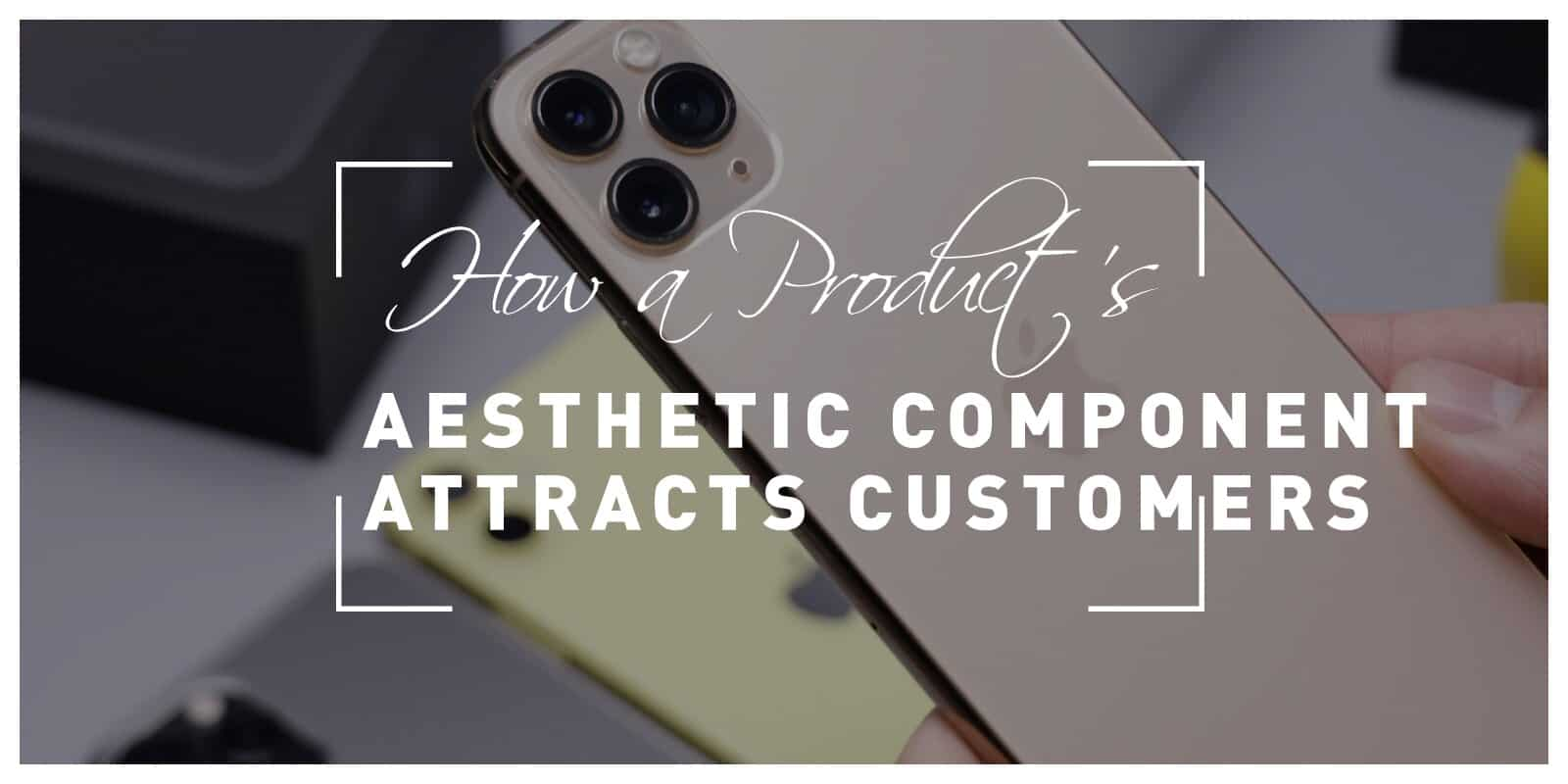 How The Aesthetic Component Of A Product Attracts New Customers