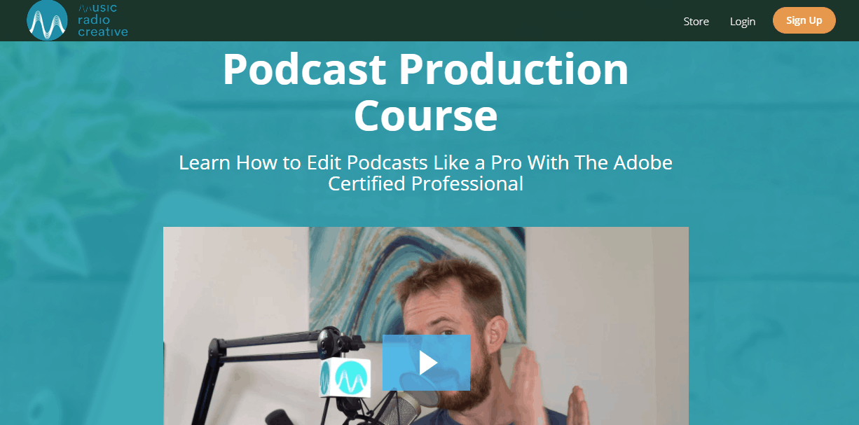 Podcast Production Course