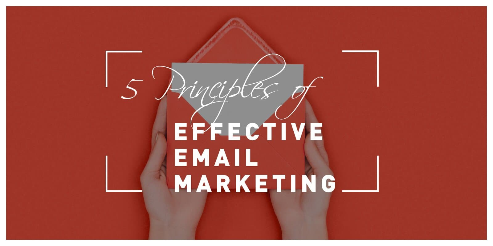 5 Principles of Effective Email Marketing: Know How to Send the Right Message at the Right Time